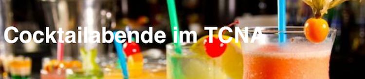 Es geht bald wieder los – die beliebten Cocktails im TC Vereinshaus