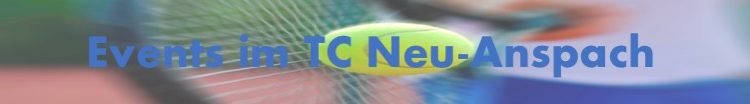Aktualisierung der TC-Neu-Anspach Events